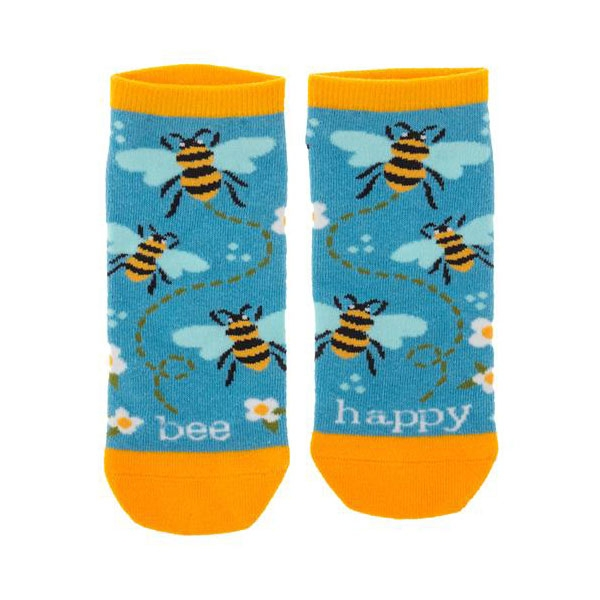 Bee Happy Ankle Socks