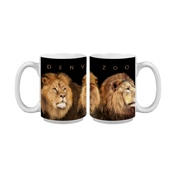 Lion Faces Mug