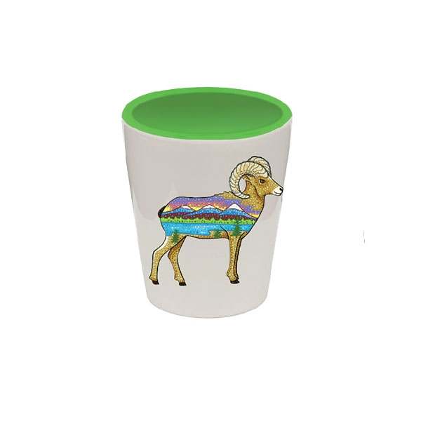 Bighorn Sheep Shot Glass