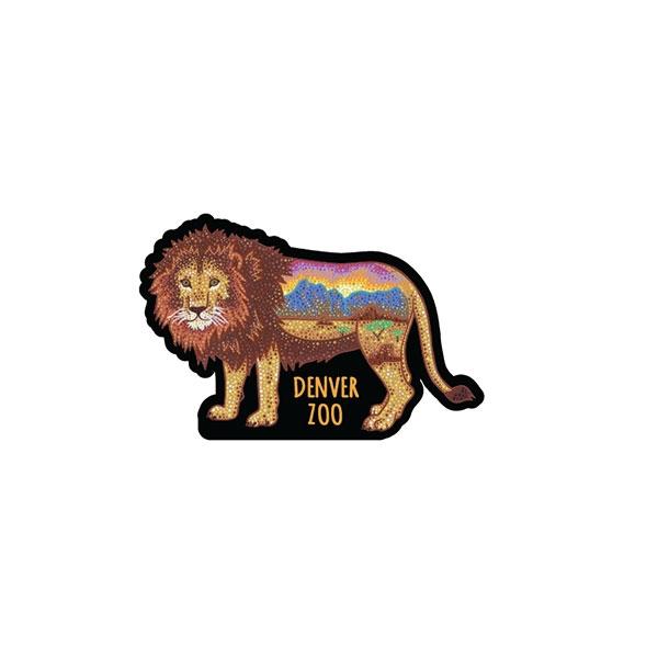 AUSTIN ZUCCHINI FOLWER LION PATCH
