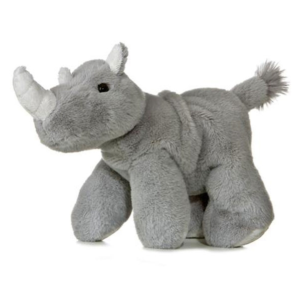 Rhino Mini Flopsie Plush