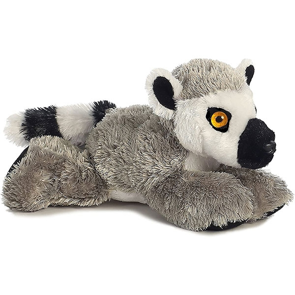 RING-TAILED LEMUR MINI FLOPSIE PLUSH