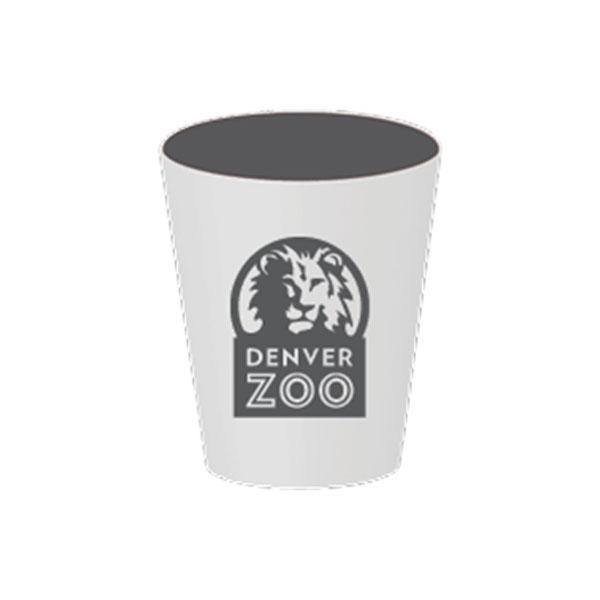 Logo Shot Glass Grey Interior