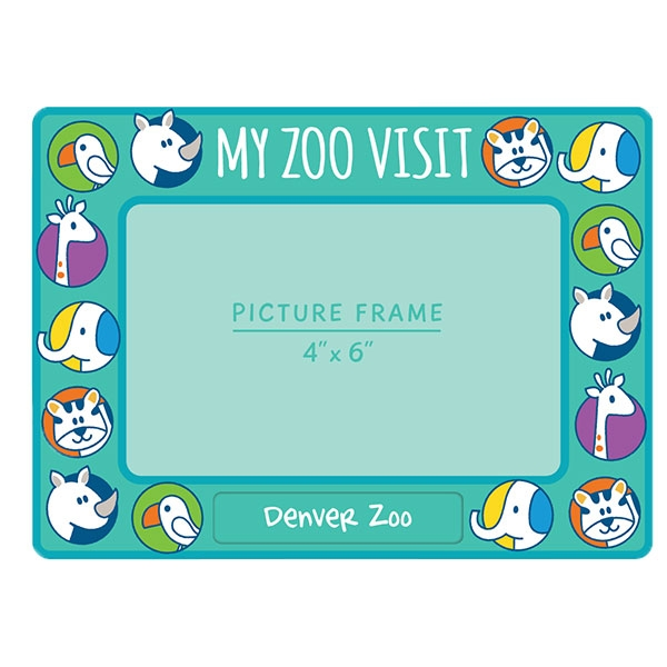 My Zoo Visit Frame