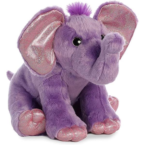PURPLE ELEPHANT PLUSH