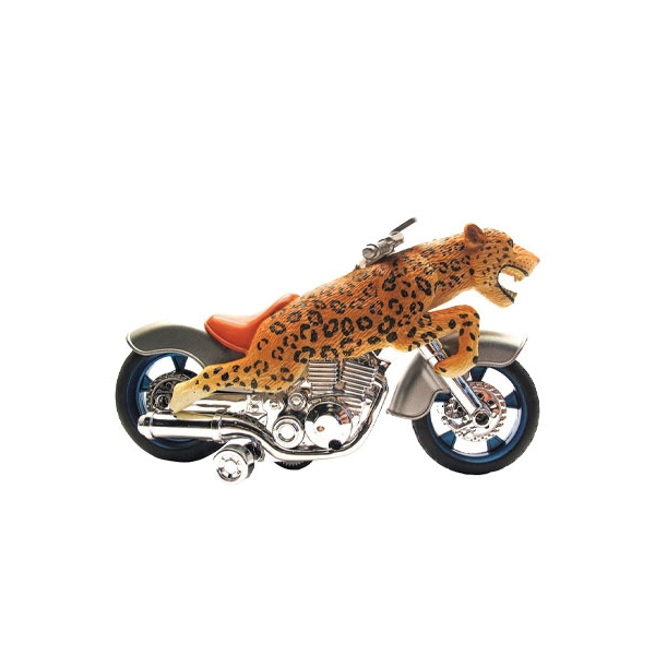 Friction Motorcycle Leopard