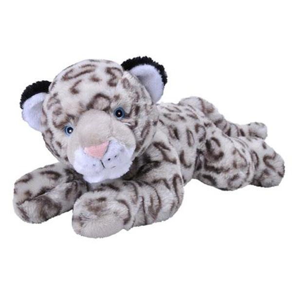 Snow Leopard Ecokins Plush