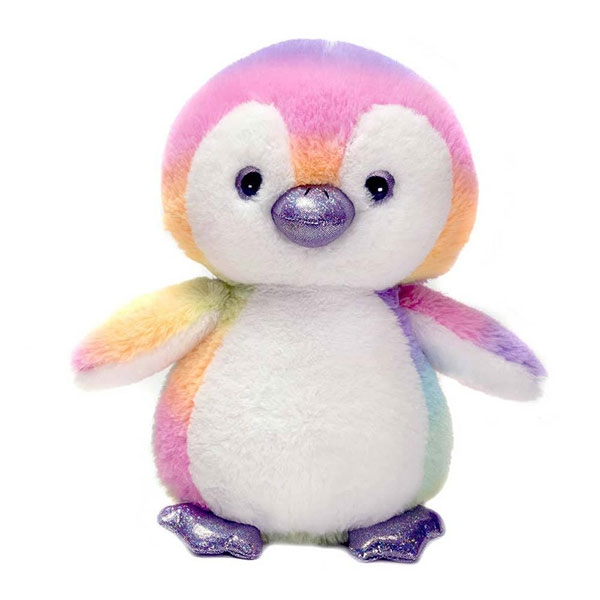 RAINBOW SHERBERT PENGUIN PLUSH