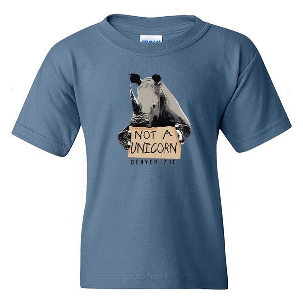 Youth Short Sleeve Tee Misunderstood Rhino