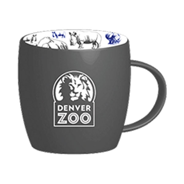 Rhino Repeat Pattern Logo Mug