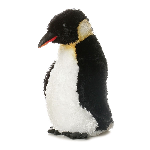 EMPEROR PENGUIN MINI FLOPSIE PLUSH