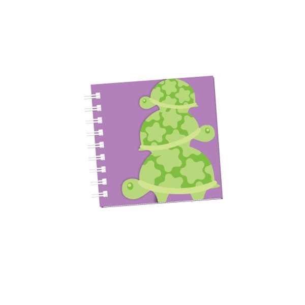 Turtle Mini Notebook