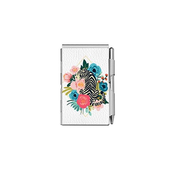 Floral Tiger Mini Notepad