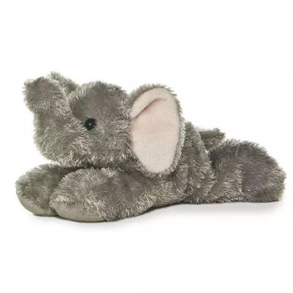 Ellie Elephant Mini Flopsie Plush