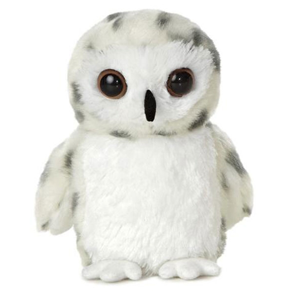 Snowy Owl Mini Flopsie Plush