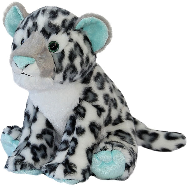 MINT SNOW LEOPARD PLUSH