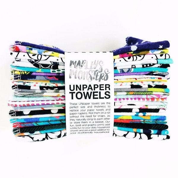 MARLEY'S MONSTERS PRINTED UNPAPER TOWELS