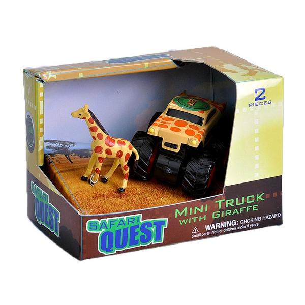 Safari Quest Giraffe Mini Truck
