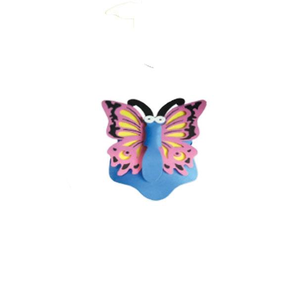 Butterfly Foam Visor