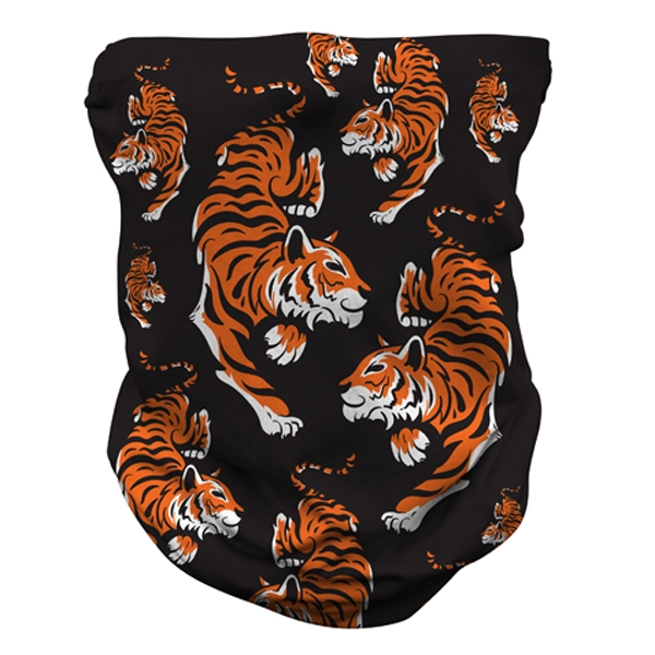 YOUTH NECK GAITER TIGER PATTERN