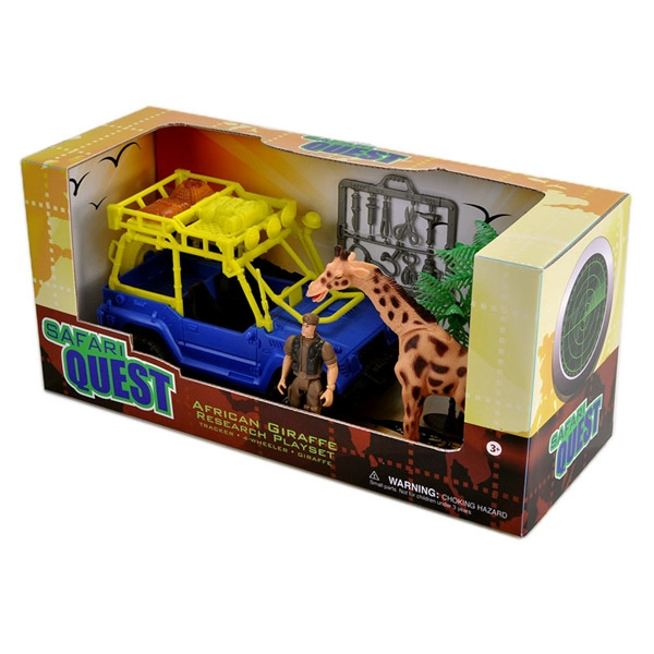 Safari Quest Giraffe Research Playset