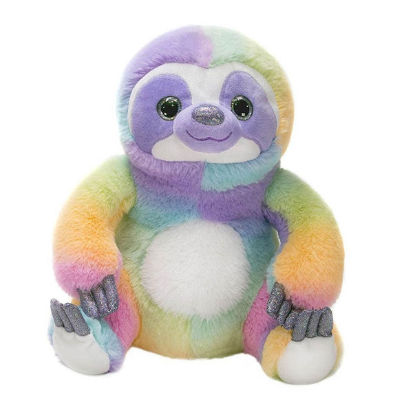 RAINBOW SHERBERT SLOTH PLUSH
