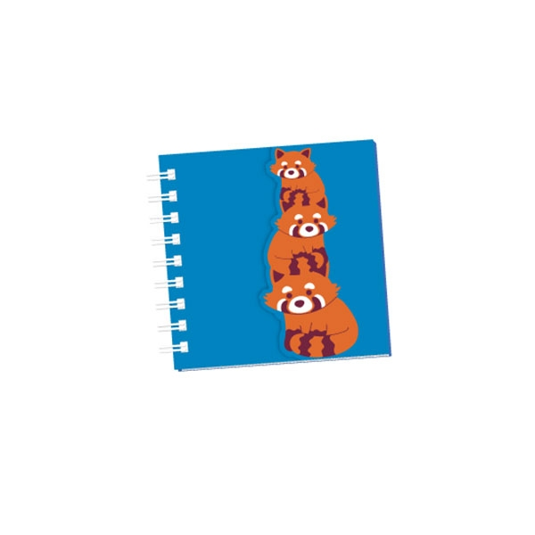 Red Panda Mini Notebook