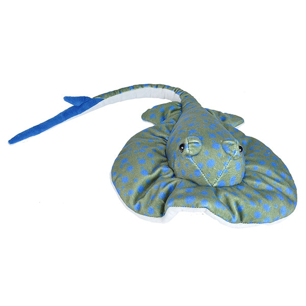 BLUE SPOTTED RAY PLUSH