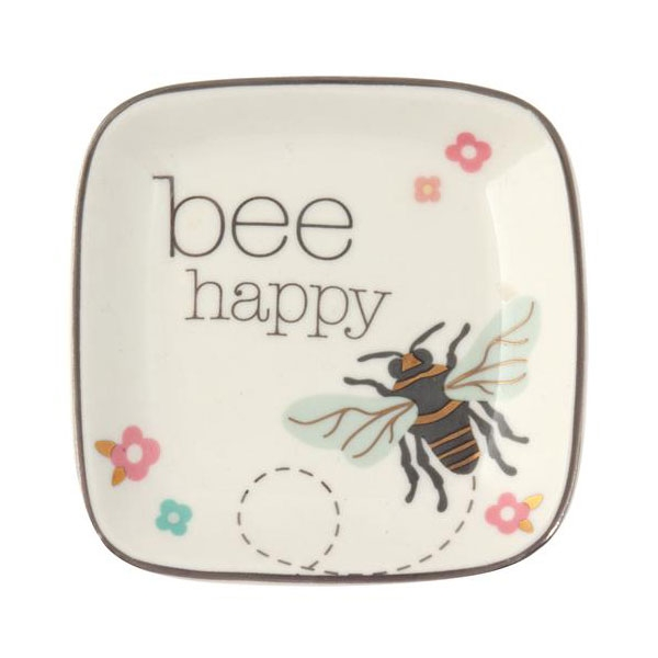 Bee Happy Trinket Tray