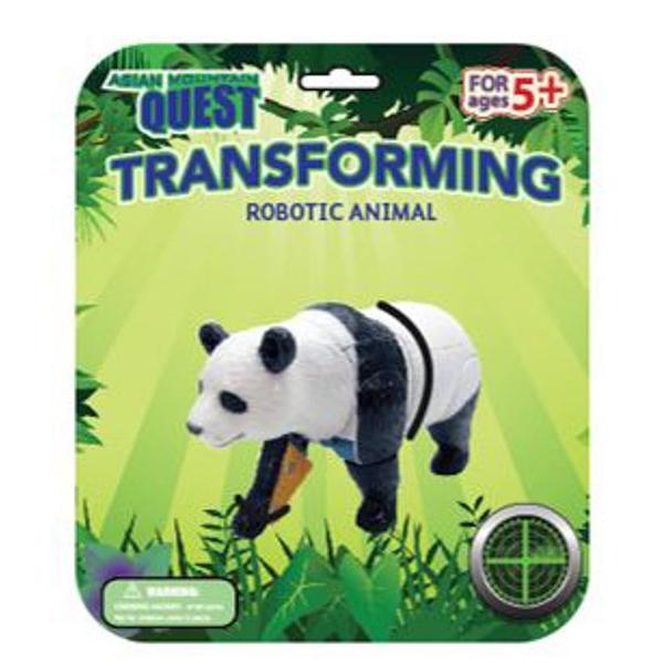 Asian Mountain Quest Transforming Panda
